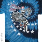 'NEW DESIGN'  Uncle Sam I Am  Grateful Dead Tye Dye M - XL Shirt