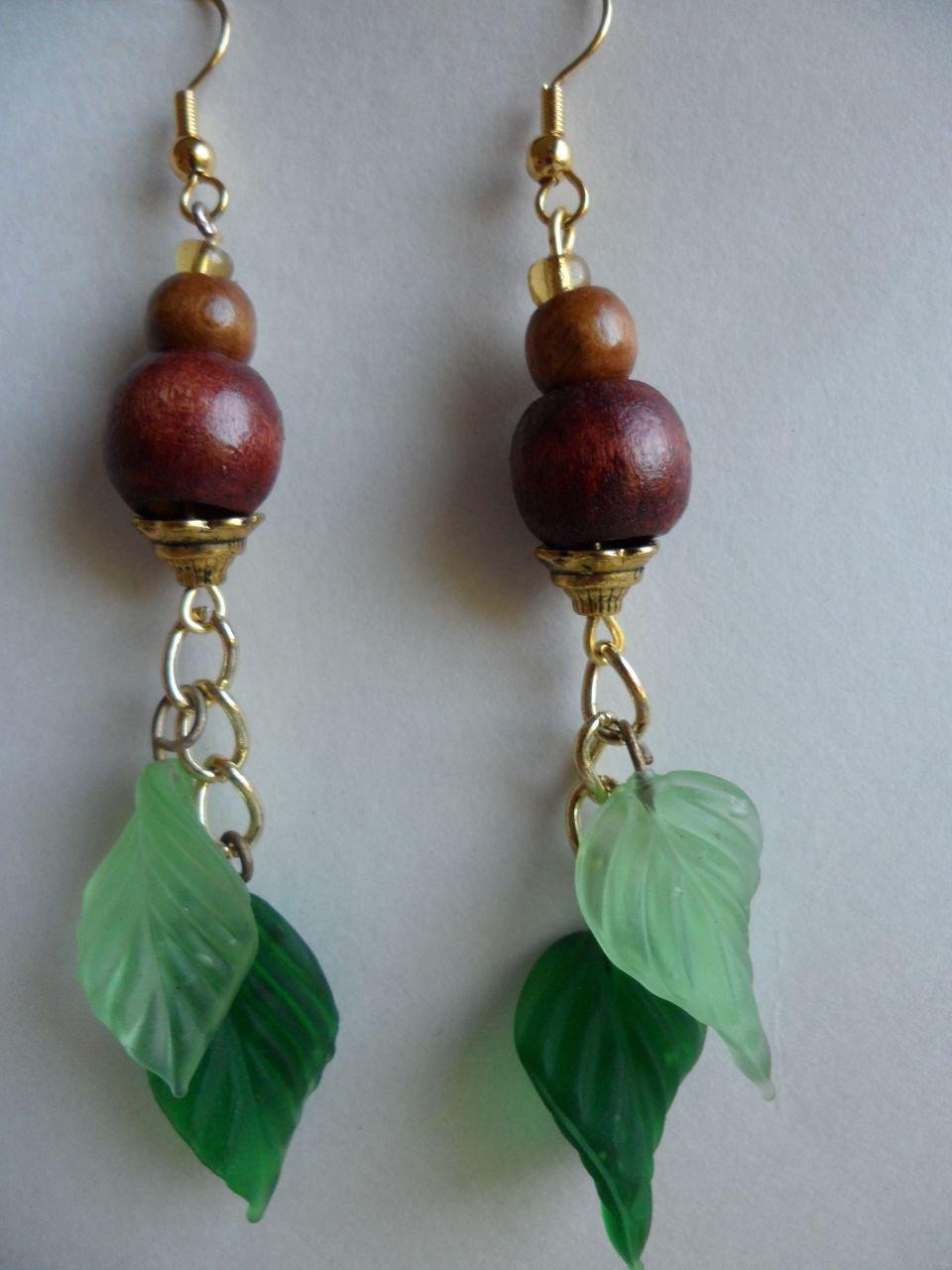 Fresh Leaf Earrings