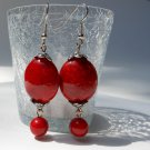 Red Fire Earrings