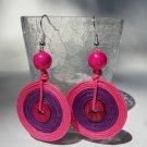 Rainbow Earrings (PINK)
