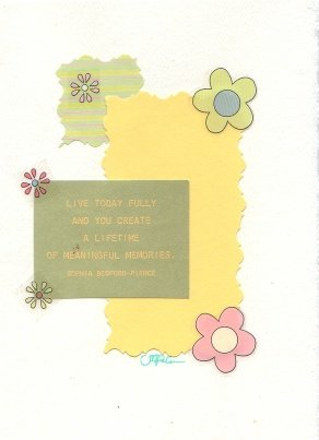 Live Today Fully Greeting Card