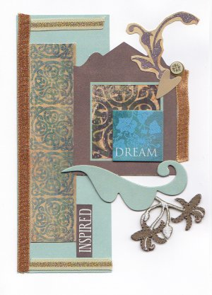 Dream...Inspired - Handcrafted Greeting Card