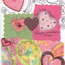 Whimsical Valentine's Day Greeting Card