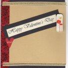 Happy Valentine's Day Handmade Greeting Card