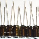 8x 68uF 35v Panasonic FM 105C Low-ESR capacitors