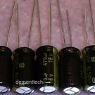 5x 470uF 16v Panasonic FM 105C Low-ESR capacitors