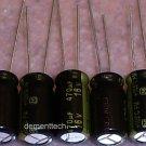 5x 470uF 16v Panasonic FM 105C Low-ESR capacitors