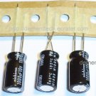 5x 1000uF 10v Nichicon HM 105C 8mm Ultra Low-ESR capacitors