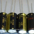 4x 1000uF 35v Panasonic FM 105C Low-ESR capacitors