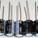 5x 1500uF 10v Nichicon HM 105C 10mm Ultra Low-ESR capacitors