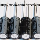 4x 2700uF 6.3v Nichicon HM 105C 10mm Ultra Low-ESR capacitors