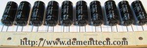 10x 3900uF 6.3v Rubycon ZL 12.5mm 105C Low-ESR radial capacitors