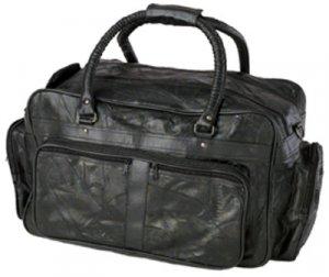 "23"" Genuine Leather Tote Bag"