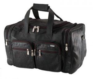 """Genuine Buffalo Leather 19"""" Tote Bag"""