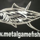 Metal Fish Art  Aluminum Tuna Gamefish  wall art