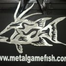 Metal Fish Art  Aluminum Hogf ish Gamefish  wall art