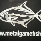metal fish art Permit aluminum gamefish sculpture