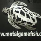 Metal Fish Art Lager Head Turtle gamefish sculpture