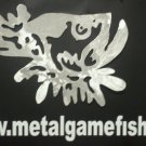 Metal Fish Art Gamefish Tarpon Bust