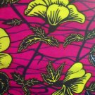 African Wax Fabric Ankara Dashiki Batik - Real Wax Print Sold by the yard