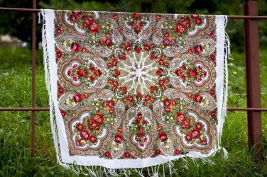 Russian shawl 47X47