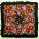 Russian shawl 100% rare dense cotton