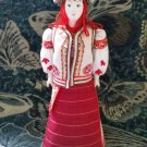 Western Ukrainian costume doll 10'