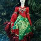 Russian Gypsy costume doll 10'