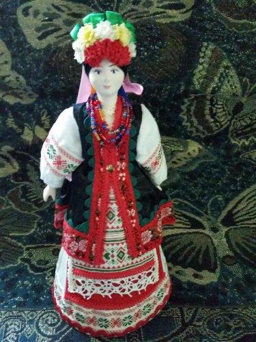 Ukrainian costume doll 10'