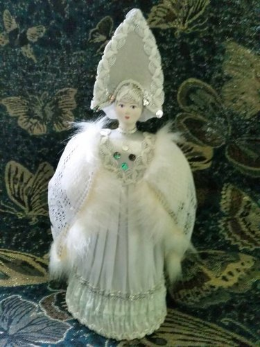 Russian costume doll 11'