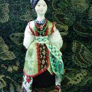 Ukrainian costume doll 10'