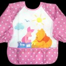 Disney Winnie the Pooh & Piglet Long Sleeved Baby Bib