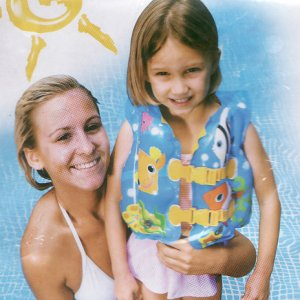 Inflatable Baby Safe Aid Swim Life Vest
