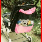 Baby Pushchair & Pram Storage Bag(Pink)