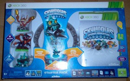 Brand New: Skylanders Spyro's Adventure Starter Pack- Xbox 360