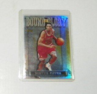 1997-98 Topps Bound for Glory #BG15 Scottie Pippen card