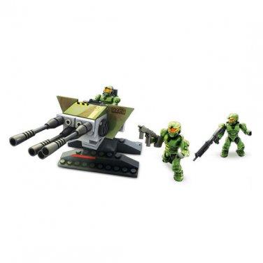 Pre-Owned - Halo Wars Mega Bloks: UNSC Turret Set [Complete Loose]