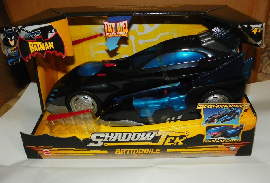 Brand New The Batman Shadow Tek Batmobile Vehicle