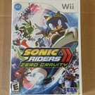 Brand New Factory Sealed Sonic Riders Zero Gravity - Nintendo Wii