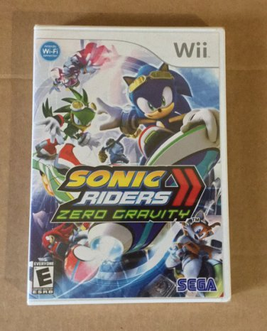 Brand New Factory Sealed Sonic Riders Zero Gravity - Nintendo Wii