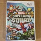 Brand New Factory Sealed Rare Marvel Super Hero Squad - Nintendo Wii, 2009