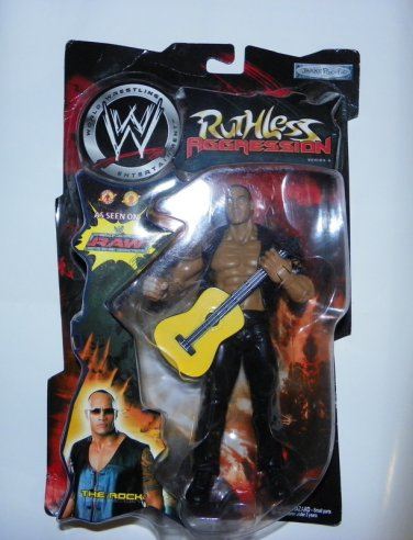 Brand New WWE The Rock Ruthless Aggression Series 4 Figure