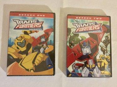 Brand New Transformers Animated: Season 1 and 2 DVD Set