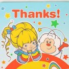 Rainbow Brite Party Supplies Rainbow Brite Thank You Notes
