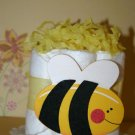 Mini Diaper Cake Bee