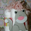 Mini Diaper Cake Cat