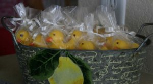 Baby Shower Favor Chocolate Ducks