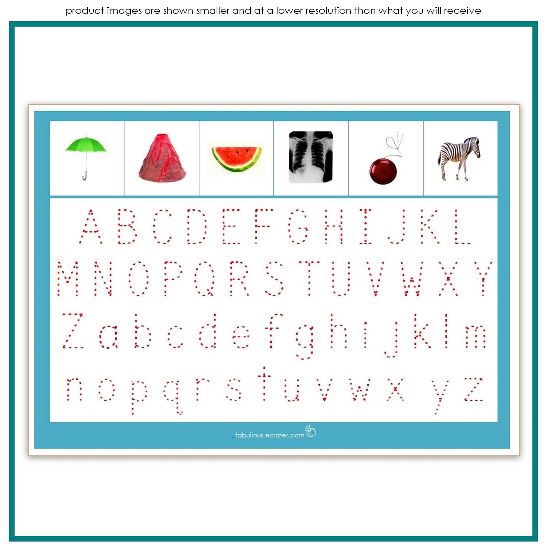 Alphabet Match & Sort