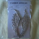 Angel Wings Earrings Silver