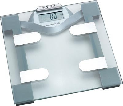 HealthSmart Glass Electronic Body Fat Scale